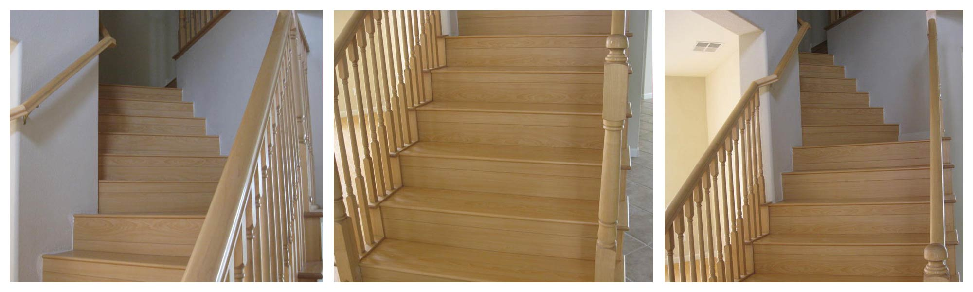 Laminated wood for stair for qualitygranite and tile inc