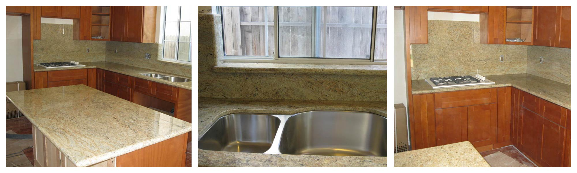 Sacramento Granite and Tile, Kitchen Cabinet; Granite and Tile. Tile and Stone, Granite